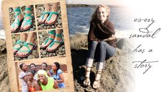 I like this idea! Supporting the economy and educational opportunities for women in Uganda! Plus cute sandals :)
