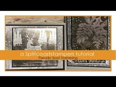 An online community for art stampers and scrapbookers Card Making Tutorials, Card Making Techniques, Split Coast Stampers, Ink Stamps, Halloween Cards, Pigment Ink, Christmas Cards, Paper Crafts, Community