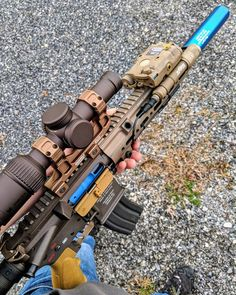 "273 Likes, 7 Comments - Zero (@tan_rifle) on Instagram: ""Shot of my rifle that was just posted by @blue_can_training #trainthewayyoufight #hk416 #hk #416…"""