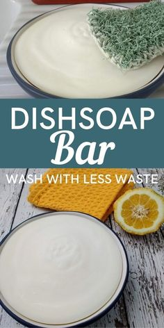 Eco-Friendly Dish Soap Bar with Less Waste Eco-Friendly Dish Soap Bar with Less Waste This homemade dish soap bar will change the way you wash dishes! It's a more eco-friendly option than bringing home disposable plastic bottles of soap. Homemade Cleaning Products, Cleaning Recipes, Natural Cleaning Products, Washing Soap, Washing Dishes, Homemade Dish Soap, Homemade Art, Limpieza Natural, Dishwasher Soap