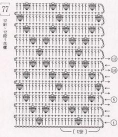 "Best 11 The book crochet patterns"" / 285 photos / . Discussion on LiveInternet – Russian Service Online Diaries – SkillOfKing. Crochet Puntada Bobble, Bobble Stitch Crochet, Crochet Stitches Chart, Granny Square Crochet Pattern, Crochet Flower Patterns, Crochet Diagram, Crochet Squares, Crochet Blanket Patterns, Crochet Motif"