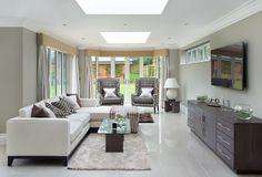 Oberlichter sind ein tolles Feature und lassen viel Licht in Räume, die sonst aufgrund mangelnder Sonneneinstrahlung dunkel sein.