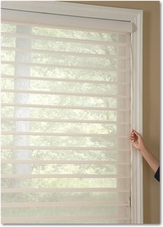 7 Free Cool Tips: Sheer Blinds Hunter Douglas bedroom blinds wooden.Outdoor Blinds Wood bamboo blinds with valance. Sheer Blinds, Diy Blinds, Curtains With Blinds, Window Blinds, Bay Window, Privacy Blinds, Fabric Blinds, Blackout Blinds, Living Room Blinds