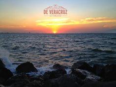 #Buen Día #amanecer #playa  Mi Veracruz