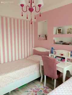 visit our website for the latest home decor trends . Bedroom Wall Designs, Room Ideas Bedroom, Small Room Bedroom, Bedroom Decor, Baby Girl Room Decor, Baby Room Diy, Bedroom Built In Wardrobe, Diy Rangement, Baby Room Furniture