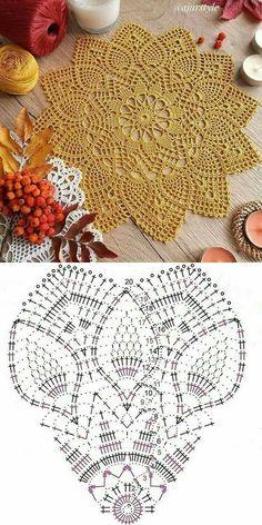 Filet Crochet, Crochet Bee, Crochet Doily Diagram, Crochet Dollies, Crochet Chart, Thread Crochet, Crochet Bedspread Pattern, Crochet Snowflake Pattern, Crochet Mandala Pattern