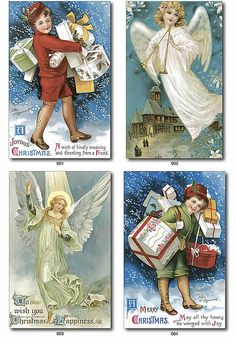 Angels and vintage images