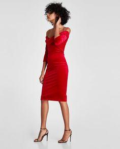 9bdc3f79f58 Image 3 of VELVET TUBE DRESS from Zara Tube Dress