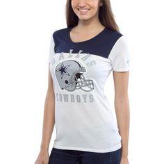 NFL Shield Womens Kick Off Premium T-Shirt - Royal Blue | Royal ...