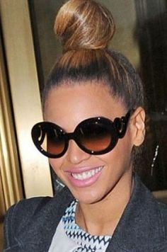 I love Beyonce but also I bought these Prada sunglasses about 5 years ago...best most irresponsible $300 of my life