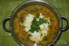 Receita de Cozido vegetariano (indiano) em receitas de legumes e verduras, veja essa e outras receitas aqui!