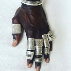 ldies but goodies Just bought thoses silver rings for the next new shop African Jewelry, Ethnic Jewelry, Jewellery, Silver Jewelry, Silver Rings, Piercings, New Shop, Statement Jewelry, Fashion Accessories