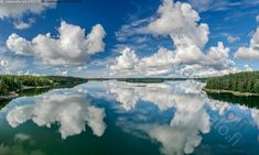 Saaristomaisema - luonto heijastus meri peilikuva pilvet pilvi saaristo tyyni vesi saaret saari maisema saaristomaisema Clouds, Island, Mountains, Nature, Travel, Outdoor, Outdoors, Naturaleza, Viajes