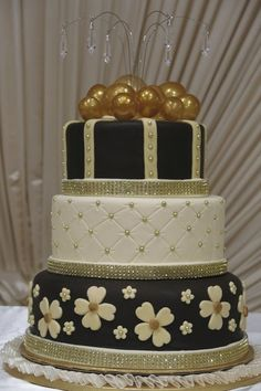 Celebration Cake! - by Sweet2Cakes @ CakesDecor.com - cake decorating website