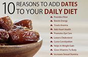 'Here's Why You Must #date  With DATES, #everyday    Health benefits of dates Dates are rich in iron, vitamins and minerals. They have numerous benefits and are highly recommended to be included in your daily diet.'