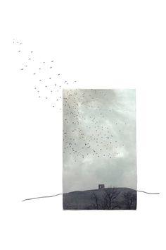 """""""Yo existo en dos lugares, aquí y dónde me encuentran."""" - Margaret Atwood   © Lúa Ocaña"""