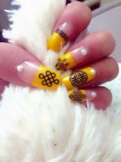#nailart #mongolian #pattern