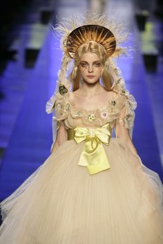 Jessica Stam - Jean Paul Gaultier Spring 2007 Couture
