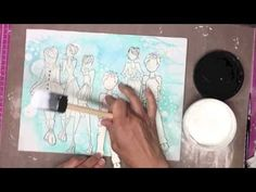 Julie Nutting canvas - YouTube video