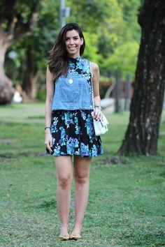 lookfloral Camila Coutinho