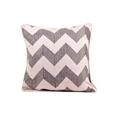 """Zig Zag Pillow 16"""" Gray, $30, now featured on Fab.http://fab.com/sale/18714/product/201636/?usid=4"""