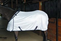 Abrazo Hug Flysheet by Abrazo. $59.95. The patented HUG CLOSURE system consists of overlapping chest panels ..there is nothing to bind the shoulders or restrict movement. The neck opening is adjustable for permanent perfect fit. In addition, the elastic neck straps allow the horse to expand the neckline when he gets up or down or while grazing. Protects from sun and flies.