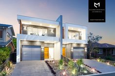 M Cubed Architects - Sydney Duplexes, Designer Houses, Townhouses - Sutherland Shire, Georges River, Bayside House Layout Plans, Duplex House Plans, Modern House Plans, House Layouts, Row House Design, Duplex House Design, Modern House Design, Architects Sydney, Modern Townhouse