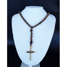 The Christ Nail 5 Decade Catholic Rosary Stainless Steel Nails, Tiger Eye Beads, Rosary Catholic, Ancient Greece, Christ, Gemstones, Unique, Gold, Jewelry