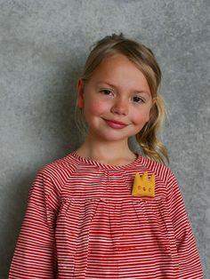 udder — Evie Dress - Red Stripe