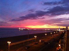 #brighton #sunset #pier