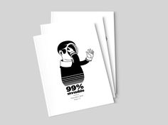 '99 percent invisible' is a Greece-based, collective print zine, written in English which covers the fields of illustration, photography, graphic design, writing and comic.99percentinvisible.bigcartel.com