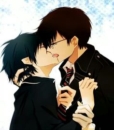 Rin x Yukio <3 (Blue Exorcist) twincest still dont know why i ship them XD