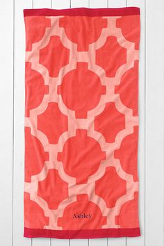 Tile Beach Towel from Lands' End