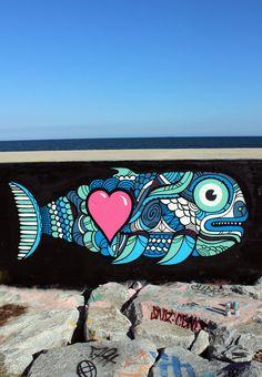 street art Grems, Fish. 000