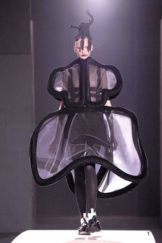 "2014 SS Paris: ""Clothes That Are Not Clothes"" by COMME des GARCONS #japanesefashion"