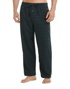 Tahoe Plaid Flannel Pajama Pants   Polo ralph lauren, Flannel pyjamas and  Polos