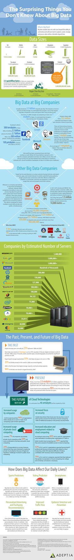 Surprising Big data Facts Infographic