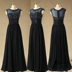 Prom Dresses London Classic Long Navy Blue Dresses For Prom Appliques Beads Sheer Scoop Neck Modest Prom Dress Chiffon Vestido Para Formatura Prom Dress Sale From Adminonline, $85.86| Dhgate.Com