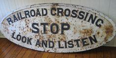 Railroad Sign: Herndon Historical Society