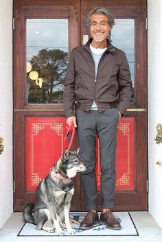 Post with 31485 views. Older Mens Fashion, Military Fashion, American Casual, Harrington Jacket, Casual Wear For Men, Dapper Men, Lakme Fashion Week, Japanese Men, Japan Fashion