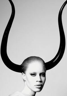 Diandra Forrest! First albino female model!!