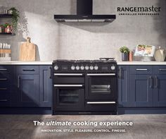 Henry Rose Interiors are a Cambridge based family-run kitchen, bedroom and bathroom design, supply and fitting company - with leading brands available. Rangemaster Cookers, Range Cooker, Household, Kitchen Cabinets, Separate, Drawer, Kitchen Ideas