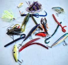 So many colors to choose from. How to narrow down the choices of bass fishing lures.