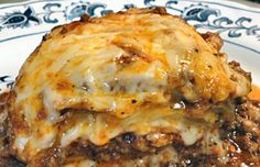 If you love lasagna, you may find it hard to give it up once you start a low-carb diet. Thankfully, you really don't have to give up lasagna completely if you really love it. You just have to find creative ways to reduce its carb content so you can enjoy it without feeling like you're cheating on your diet. This beef and eggplant lasagna is one good example of a creative, low-carb lasagna recipe, substituting eggplant for the lasagna noodles. Check out the recipe.