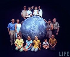 https://flic.kr/p/mGNU6g | Apollo 11 Astronauts:  Astronaut Families, Houston TX, Ralph Morse LIFE Magazine photographer, March 1969 | LIFE PHOTO. Life Magazine, Public Photo (source Life/Google 2008), REMASTERED by Dan Beaumont