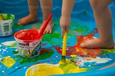 toddler pool party