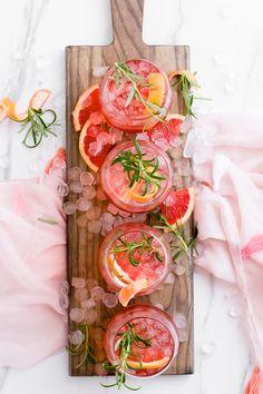 Ruby Red Grapefruit Sparkler