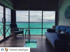 Thanks to Hisham Alashgar for sharing this picture of our #JAManafaru in the #Maldives with us.