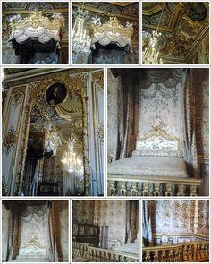 Detalhes do Grand appartement de la reine