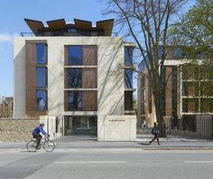 St Antony's College | Bennetts Associates Architects #legno #blocco